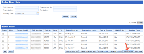 How to Download IRCTC Ticket in PDF Format After Booking