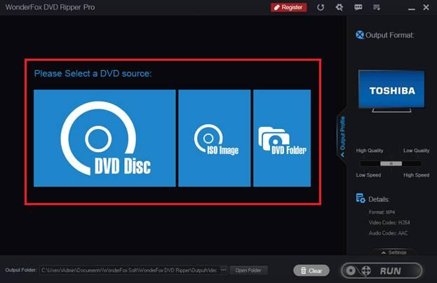 DVD Ripper Interface