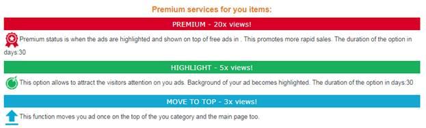 IndoClassified Premium