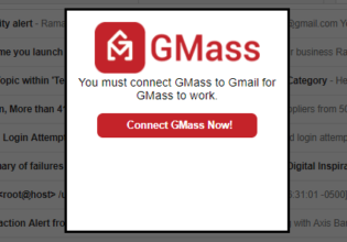 Connect GMass to Gmail
