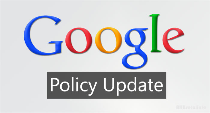 Google Policy Update
