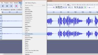 Audacity Noise Reduction Effect