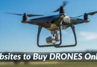 Websites to Buy Drones Online