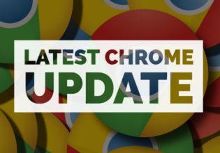 Recent Chrome Update