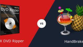WinX DVD Ripper VS Handbrake