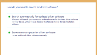 Update graphics driver automatically or manually