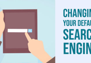 Changing default search engine