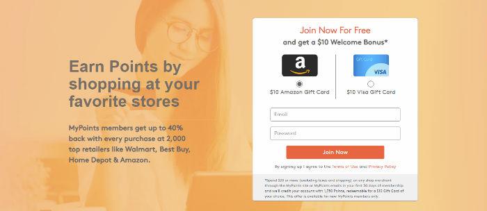 MyPoints - Your daily rewards program
