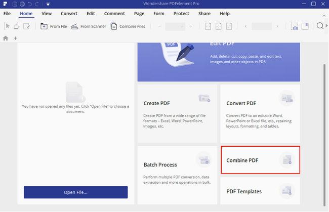 PDFelement - Combine PDF