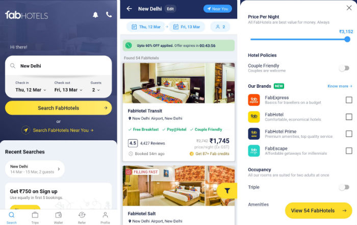 Fabhotels Android App