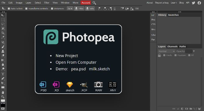 Photopea - Online Photo Editor