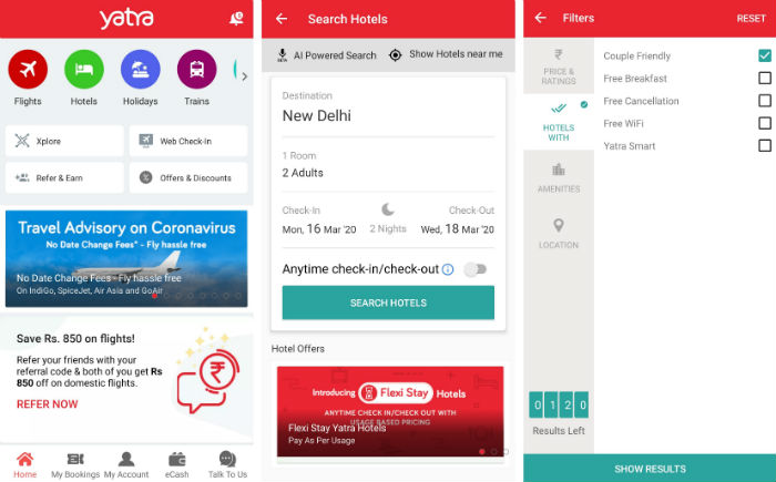 Yatra Android App