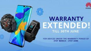 Huawei Warranty Extended