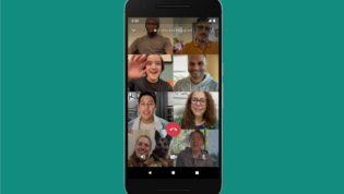 WhatsApp Group Call 8 Participants