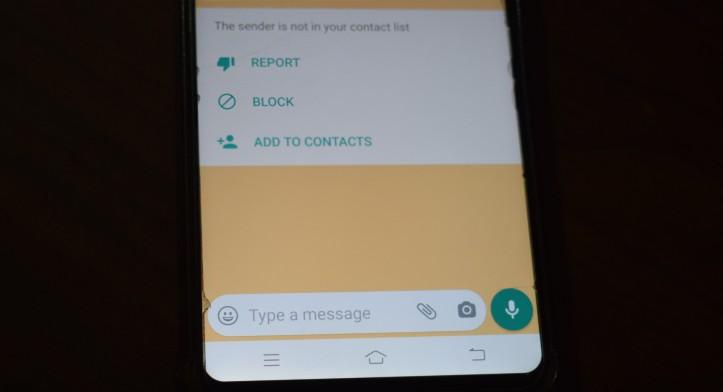 WhatsApp Block and Report