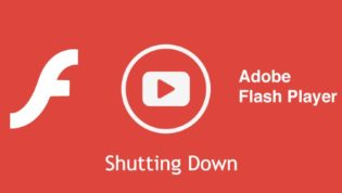 Flash Player Shut Down
