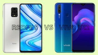 Redmi 9 vs Vivo Y12