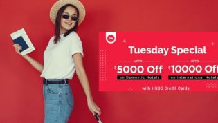 Tuesday Special Discount on Goibibo
