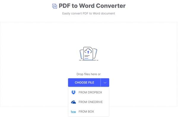 HiPDF's PDF to Word Converter