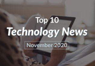 Technology news November 2020