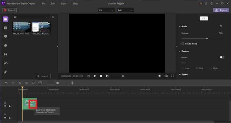 Audio Effects DemoCreator