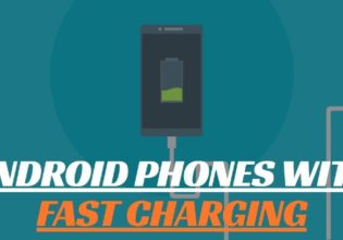 Android phones with fast charging