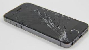 Broken display phone