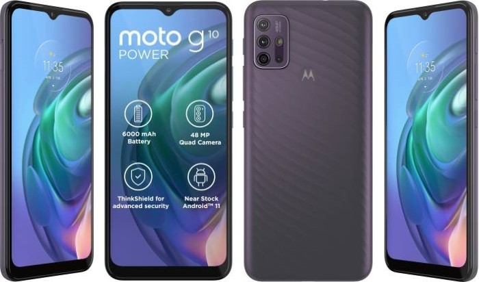 Moto G10 Power Android phone