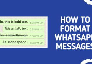 Format WhatsApp text