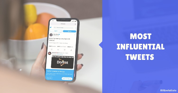 Most Influential Tweets by Tech Personalities