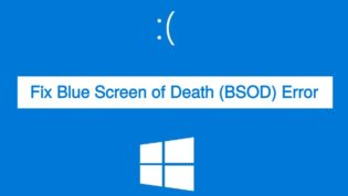 Fix BSOD error in Windows