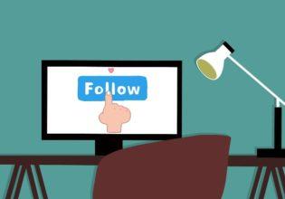 Follow social media