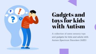 Gadgets for adults and children with autism