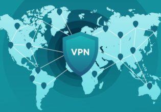 VPN icon world map