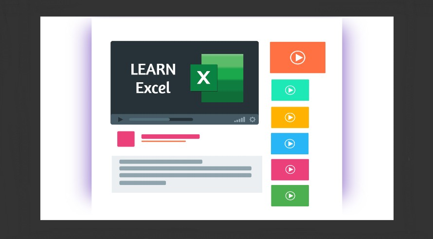 Learn Excel on YouTube