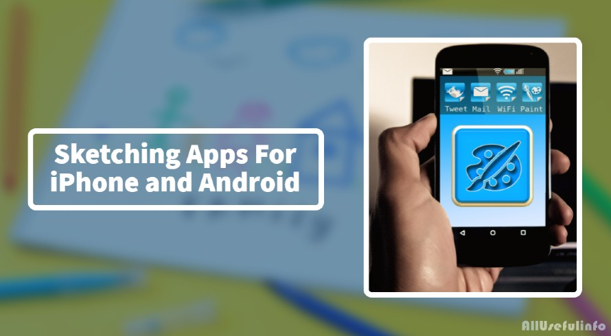 Sketching and drawing apps for iPhone and Android