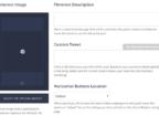 Social Warfare custom Pinterest and Tweets